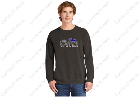 Memorial Tiger Swim - Adult Crewneck Sweatshirt