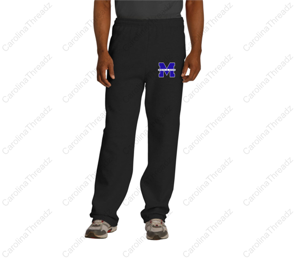 Memorial Tiger Swim - Sweatpants Open Bottom w\Pocket