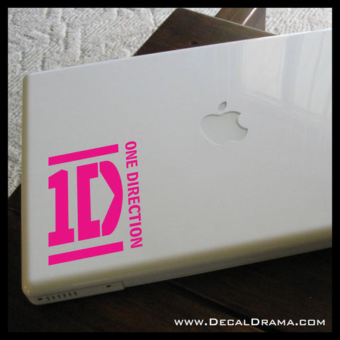 1D One Direction, Directioner Vinyl Car/Laptop Decal