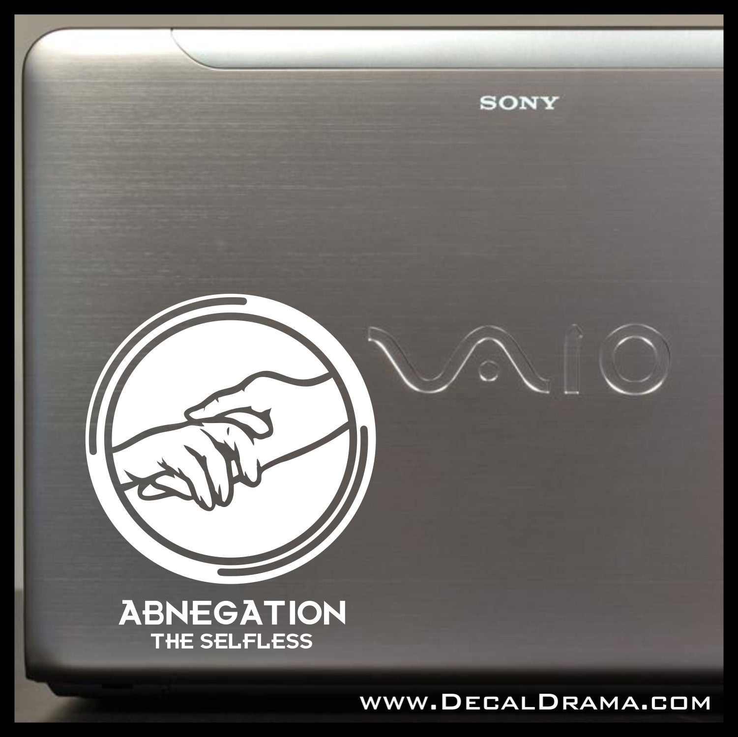 Abnegation the Selfless, Divergent-inspired Fan Art Vinyl Car/Laptop Decal