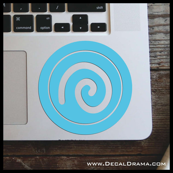 Air Elemental, Skylander-inspired Vinyl Car/Laptop Decal