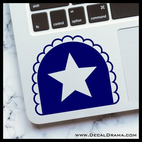 American Maid, The Tick Comic Book and TV show Fan Art Vinyl Car/Laptop Decal