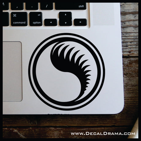 Ancient Aes Sedai Symbol, Wheel of Time-inspired Vinyl Car/Laptop Decal