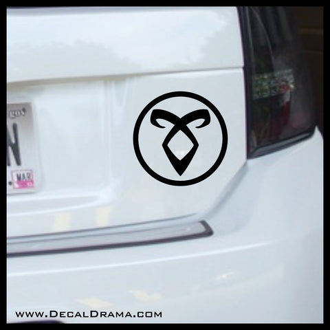 Angelic Power Rune, Enkeli, inspired by Mortal Instruments Vinyl Car/Laptop Decal