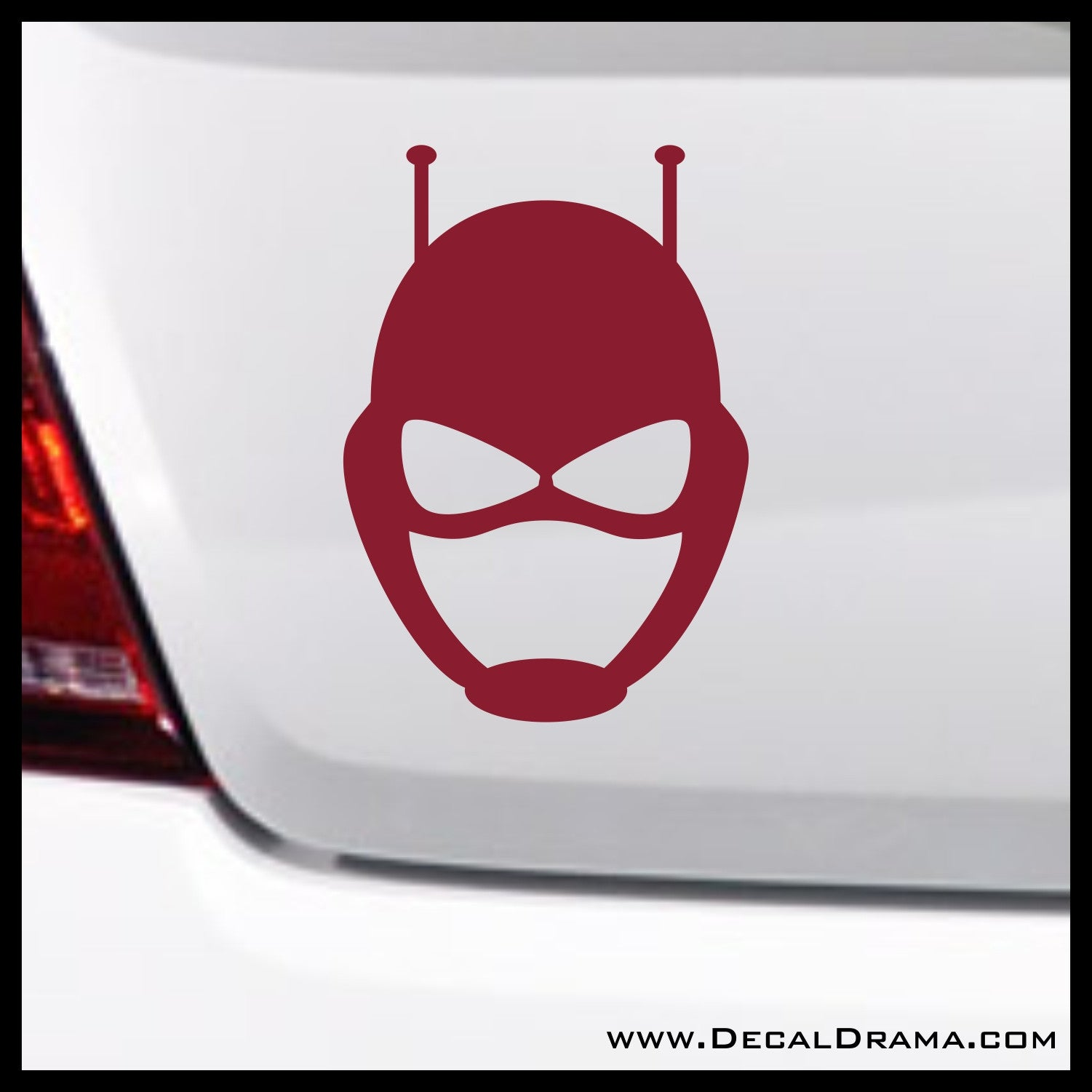 Antman Mask emblem, Marvel Comics Avengers, Vinyl Car/Laptop Decal