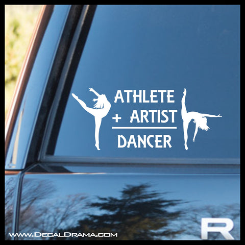 Athlete Artist Dancer Vinyl Car/Laptop Decal