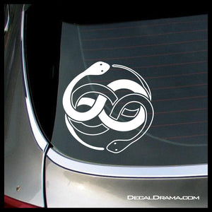 Auryn symbol, Never Ending Story-inspired Fan Art Vinyl Car/Laptop Decal