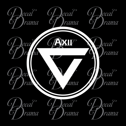 Axii sign glyph, The Witcher-inspired Car/Laptop Decal