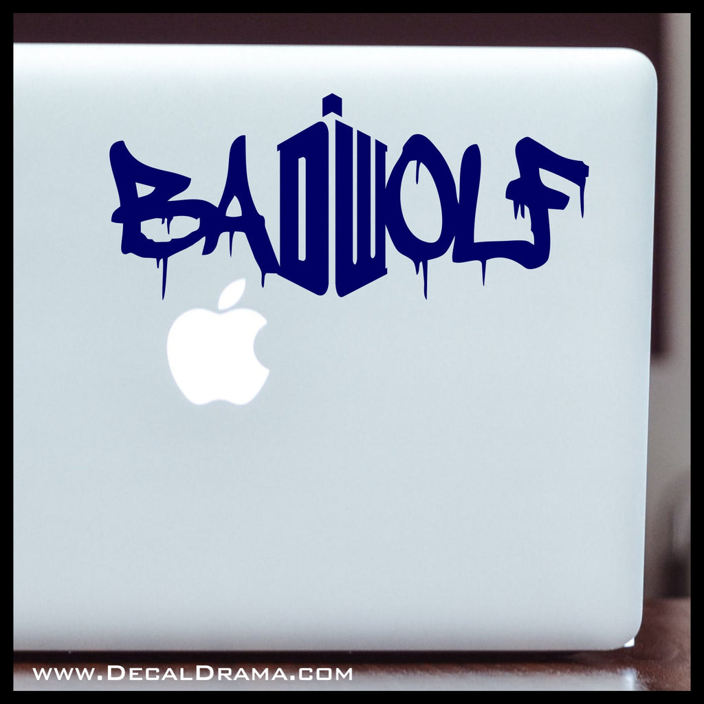 Featured decal drama bad wolf dw graffiti from doctor who vinyl carlaptop decal amipublicfo Choice Image