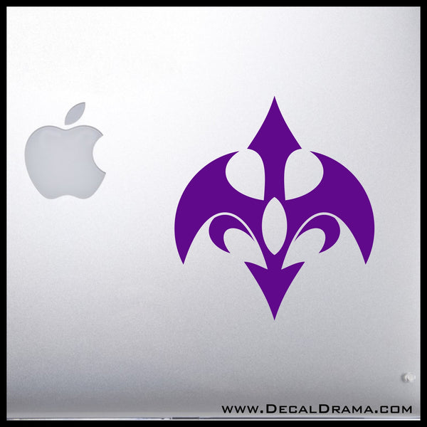 Barian emblem Yu-Gi-Oh Zexal-inspired Vinyl Car/Laptop Decal