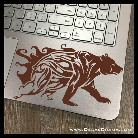 Spirit Bear Stalking Vinyl Car/Laptop Decal