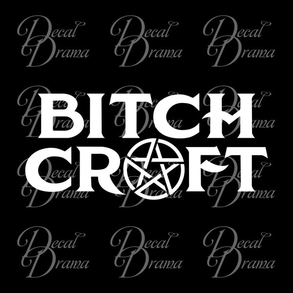 Bitch Craft, American Horror Story-inspired Fan Art Vinyl Car/Laptop Decal