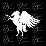 Blackjack Pegasus, Percy Jackson-inspired Fan Art Vinyl Car/Laptop Decal