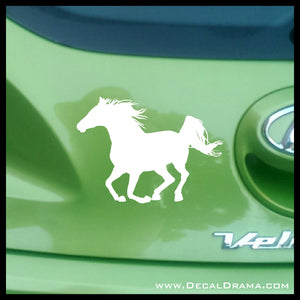 Born Free Horse Vinyl Car/Laptop Decal