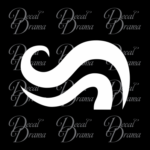 Breath Aspect symbol Homestuck-inspired Vinyl Car/Laptop Decal