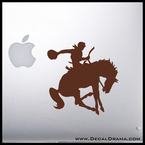 Bucking Bronco Horse Vinyl Car/Laptop Decal