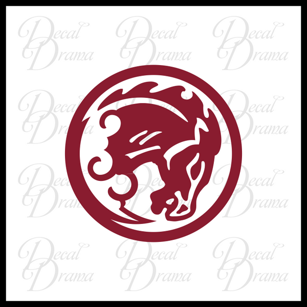Bucking Bronco vigor, Bioshock-inspired Vinyl Decal