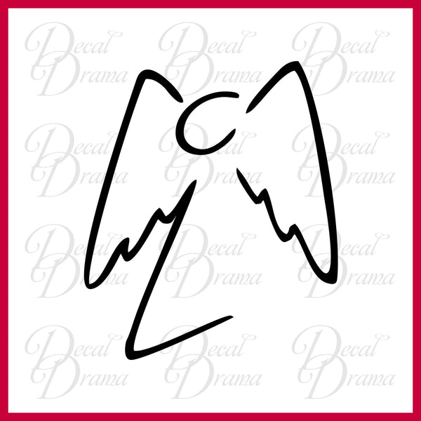 Angel's Angel, Buffy the Vampire Slayer-inspired Vinyl Car/Laptop Decal