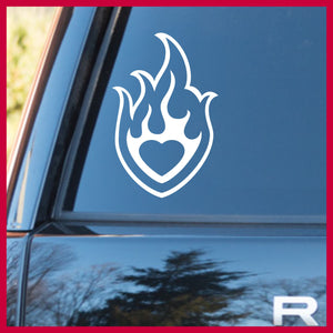 Buffy's Heart Tattoo, Buffy the Vampire Slayer-inspired Vinyl Car/Laptop Decal