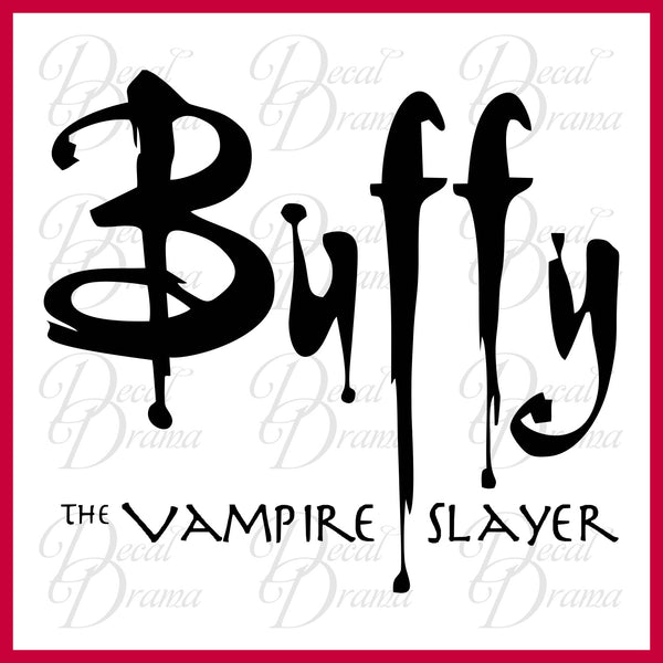 Buffy the Vampire Slayer logo, Buffy the Vampire Slayer-inspired Vinyl Wall Decal