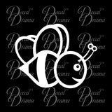 Bumble Bee Vinyl Car/Laptop Decal