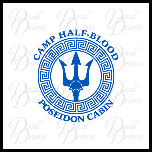 C& Half-Blood Poseidon Cabin Percy Jackson-inspired Fan Art Vinyl C u2013 Decal Drama  sc 1 st  Decal Drama & Camp Half-Blood Poseidon Cabin Percy Jackson-inspired Fan Art Vinyl ...