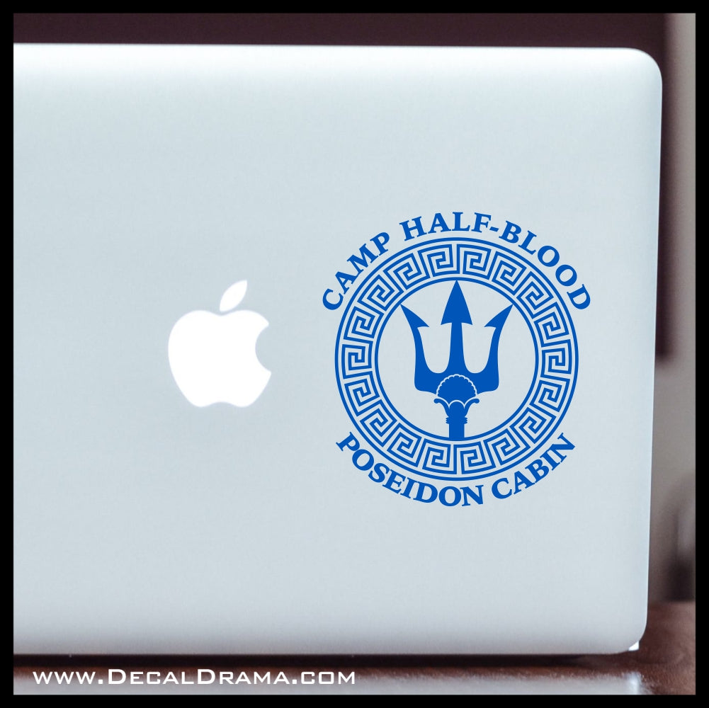 C& Half-Blood Poseidon Cabin Percy Jackson-inspired Fan Art Vinyl Car/ ...  sc 1 st  Decal Drama & Camp Half-Blood Poseidon Cabin Percy Jackson-inspired Fan Art Vinyl ...