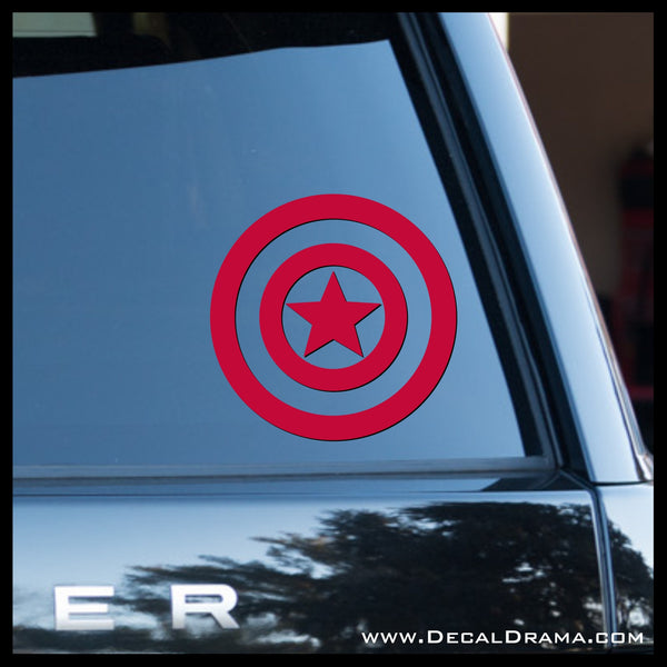 Captain America emblem, Marvel Comics Avengers, Vinyl Car/Laptop Decal