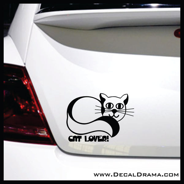 Cat Lover Vinyl Car/Laptop Decal