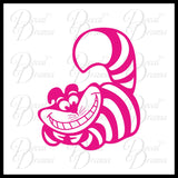 Cheshire Cat, Alice in Wonderland-inspired Vinyl Car/Laptop Decal