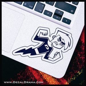 Danny Phantom Ghost Mode, TV series Fan Art Vinyl Car/Laptop Decal
