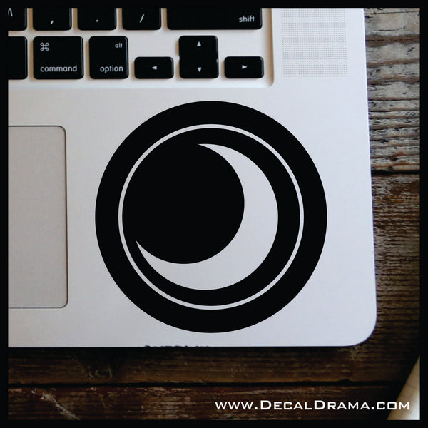 Dark Elemental, Skylander-inspired Vinyl Car/Laptop Decal