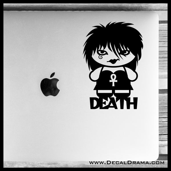 Death of the Endless, DC Comics-Inspired Fan Art Vinyl Car/Laptop Decal