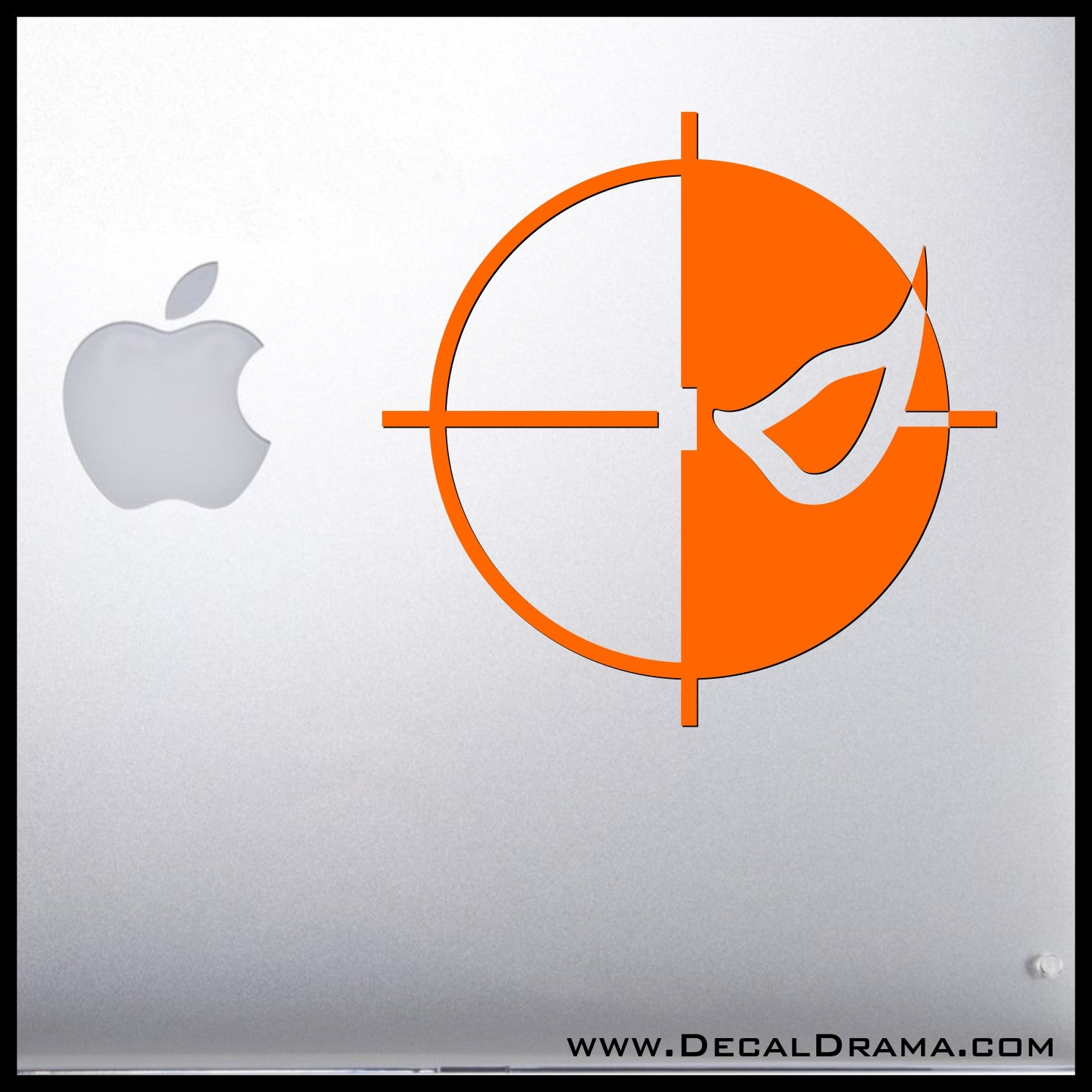 Deathstroke Slade Wilson emblem, DC Comics Arrowverse, Vinyl Car/Laptop Decal