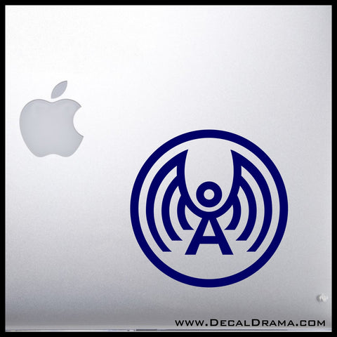 Archangel Network logo inspired by Doctor Who Vinyl Car/Laptop Decal