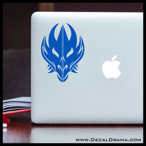 Dragon Mask Vinyl Car/Laptop Decal