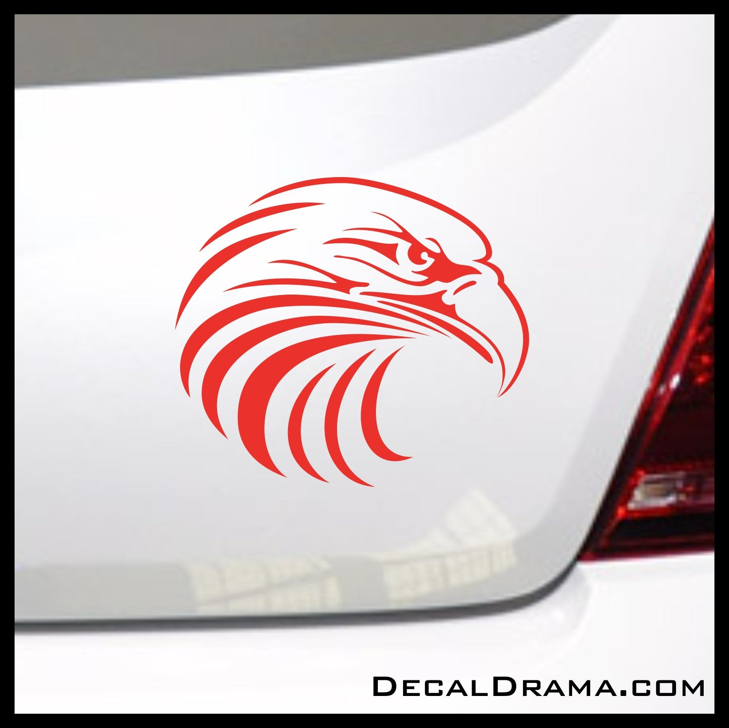 Eagle Head Vinyl Car/Laptop Decal