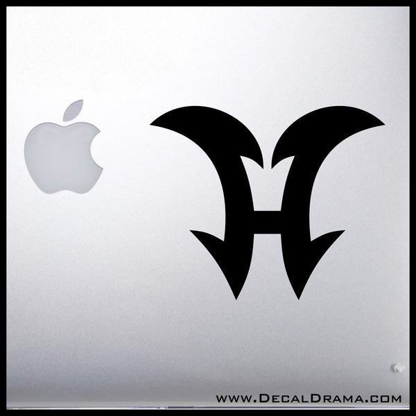 Elemental Hero symbol Yu-Gi-Oh Zexal-inspired Vinyl Car/Laptop Decal