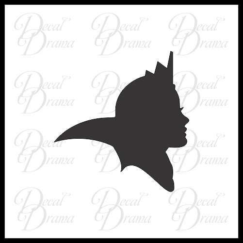 Evil Queen silhouette, Snow White Villain, Vinyl Car/Laptop Decal
