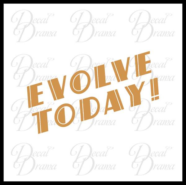 Evolve Today, Bioshock-inspired Vinyl Decal