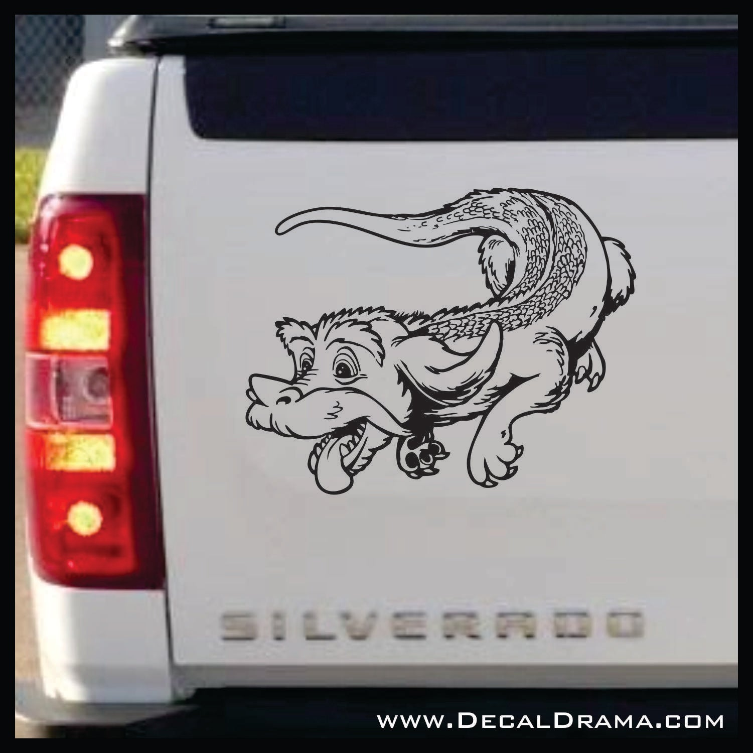 Falkor the Luck Dragon, Never Ending Story-inspired Fan Art Vinyl Car/Laptop Decal