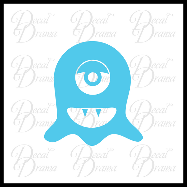 Fang Mini Monster Vinyl Car/Laptop Decal