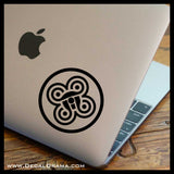 Five-Fold Knot Teen Wolf-inspired Vinyl Car/Laptop Decal