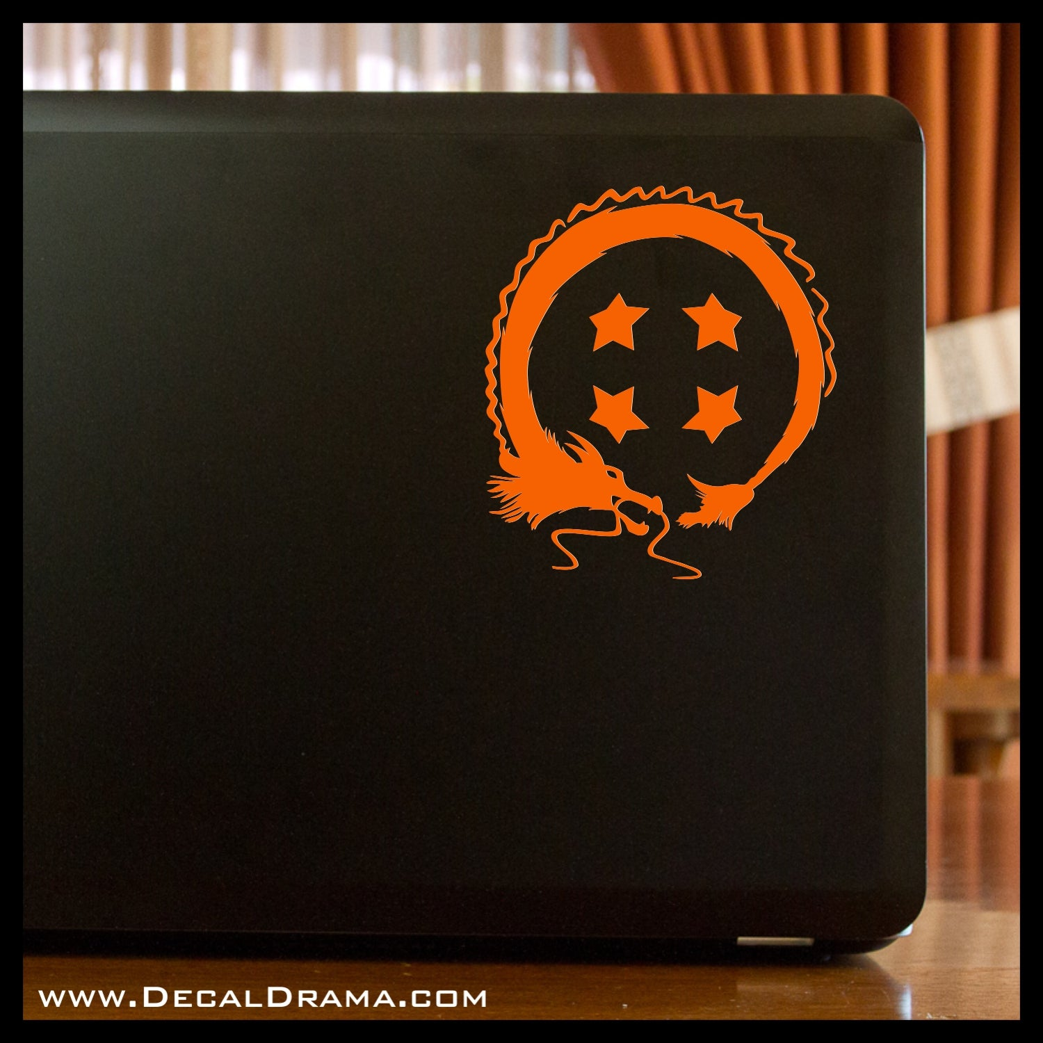 Four-Star Shenron Dragon Ball, Dragon Ball Z-inspired Vinyl Car/Laptop Decal
