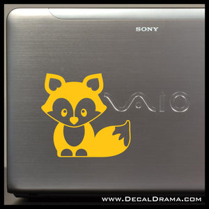 Cute Fox Vinyl Car/Laptop Decal
