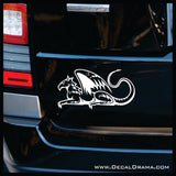Gatekeeper Gryphon Vinyl Car/Laptop Decal