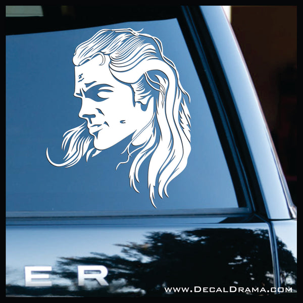 Geralt of Rivia, The Witcher Netflix-inspired Car/Laptop Decal
