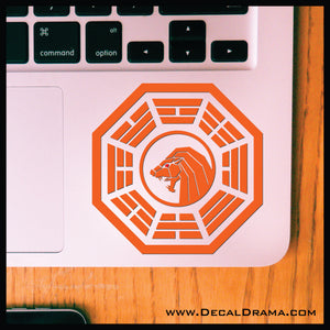 Golden Lion of the Padishah Empire, Frank Herbert's Dune Fan Art Vinyl Decal