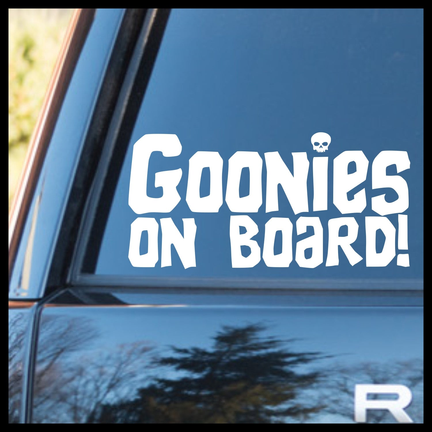 Goonies on Board! Goonies-inspired Vinyl Car/Laptop Decal