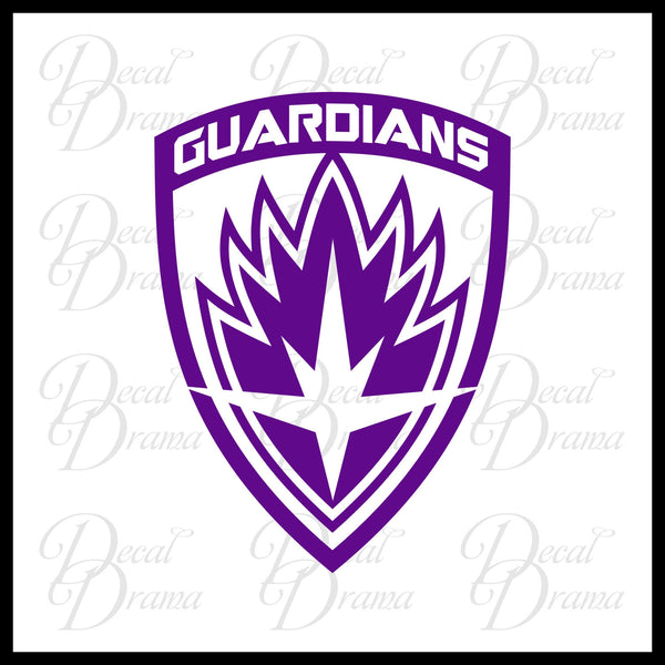 Guardians of the Galaxy emblem, Guardians of the Galaxy-inspired Fan Art Vinyl Car/Laptop Decal